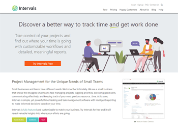 Intervals Online Software